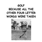 golf humor calendar