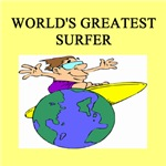 world's greatest surfer gifts t-shirts