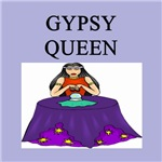 gypsy queen gifts and t-shirts