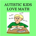 autistic boys math gifts t-shirts