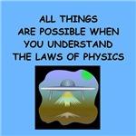 funny physicist physics joke gifts t-shirts