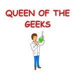 girl geek scientist gifts t-shirts
