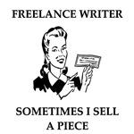 freelance writer joke gifts t-shirts