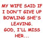 funny bowling joke gifts t-shirts