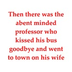 funny professor joke gifts and t-shirts