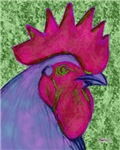 Red/Purple Rooster
