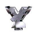 Heavy Metal initial letter Y monogram