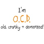 I'm OCD T-shirts and Gifts