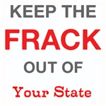 Keep Frack Out Custom Shirts
