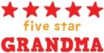 Five Star Grandma Shirts