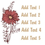 Personalized Daisy Flower Gifts