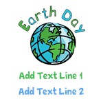 Personalized Earth Day Tee Shirts