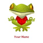 Personalized Yoga Frog Shirts
