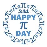 Happy Pi Day 3.14 Shirts