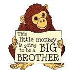 Little Monkey Big Brother Shrits