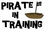 Pirate in Training Funny T-shirt