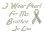 Brother in Law Lung Cancer Tee Shirts