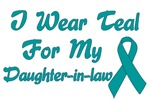Daughter-in-law Ovarian Cancer Support T-shirts