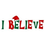 I Believe Christmas T-shirts