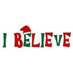 I Believe Christmas T-shirts