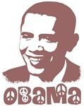 Peace Obama Portrait T-shirts