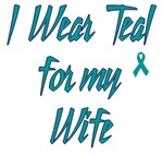Ovarian Cancer Support Wife Shirts