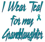 Ovarian Cancer Support Granddaughter Shirts