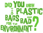 Plastic Bag Question T-shirts