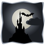 Spooky Castle Halloween T-shirts