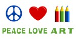 Peace Love Art T-shirts