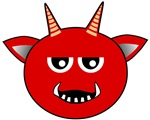 Smiley Face Devil Shirts