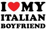 I Heart My Italian Boyfriend Shirts