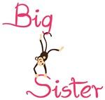 Big Sister Monkey Shirts