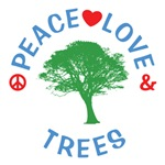 Peace Love Trees Shirts