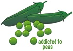 Addicted To Peas Shirts