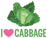 I Love Cabbage Shirts