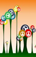 Repositionable Peace Wall Decals