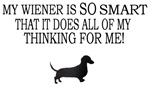 My Wiener Is SO Smart....