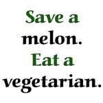 Save a Melon: Funny Meatatarian T-Shirts & Gifts