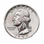 1972 U.S. Quarter
