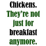 Chicken Breakfast: Funny Pro-Meat T-Shirts & Gifts