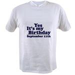 T-Shirts for September Birthdays