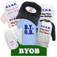 B.Y.O.B. Meaning Related Funny T-Shirts & Gifts