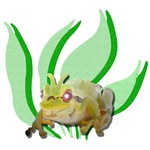 Crazy Swamp Frog T-Shirts and Gifts
