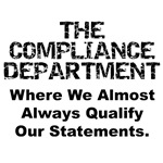Qualified Compliance T-shirt & Gifts
