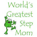 World's Greatest Stepmom Frog T-Shirts & Gifts