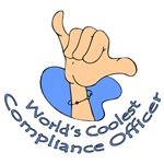 World's Coolest Compliance Officer T-Shirts & Gift