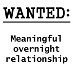 Meaningful Overnight Relationship