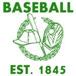 Baseball Est. 1845 Green