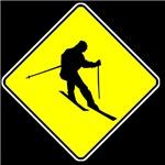 Skier Crossing